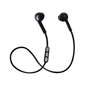 X10 Bluetooth 4.1 Sports Earphones Wireless Headphones In-ear Stereo Headset for iPhone Samsung Etc. - Black