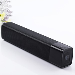 JKR KR-1000 Desktop Esterno Portatile 4400mAh Bluetooth V4.1 Supporto Altoparlante Usb / Aux-in / TF Card - Nero