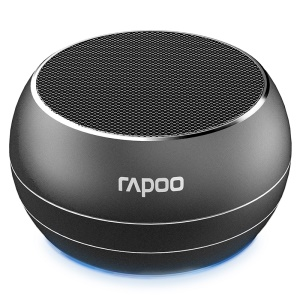 RAPOO A100 Mini Drum Shaped Bluetooth Music Speaker with Mic Support 3.5 Aux-in/TF Card for iPhone Samsung