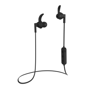 LANGSDOM BS85 Wireless Bluetooth Sports Earphone with Microphone for iPhone Samsung LG - Black