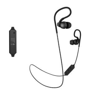 LANGSDOM BS80 Earphones Bluetooth Wireless Stereo Music Handsfree Hifi Earphone - Black