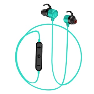 K8 Magnetic Attraction Hands-free Stereo Bluetooth Headphone Sports Headset for iPhone Samsung Huawei Etc. - Blue