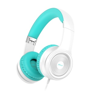 PICUN C26 Over Ear 40mm Driver Wired Stereo Headphone Headset with Microphone for iPhone Samsung Xiaomi Etc. - Green