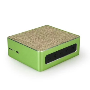 M10 Cloth Coated Wireless Bluetooth 4.2 Speaker with Mic Support TF Card - Green