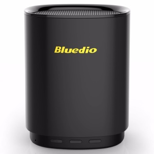 BLUEDIO TS5 Mini Bluetooth Speaker Portable Wireless Speaker 3D Sound System Stereo Music with Microphone Voice Control