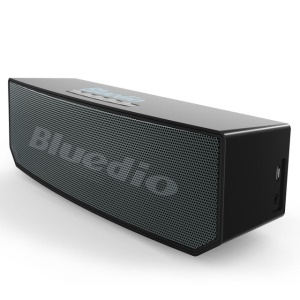 BLUEDIO BS-5 Portable Stereo 3D Wireless Bluetooth 4.1 Mini Speaker Music Player - Black
