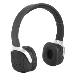 NEW BEE Foldable Bluetooth Headset Feature Pedometer NFC Connecting - Black