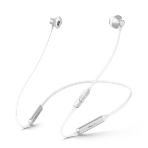 PICUN H12 Neck-band In-ear Magnetic Wireless Bluetooth 4.1 Stereo Headphone with Mic for iPhone Samsung - Silver