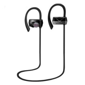 Wireless Bluetooth 4.1 Sports Earphone with Microphone for iPhone Samsung LG - Black