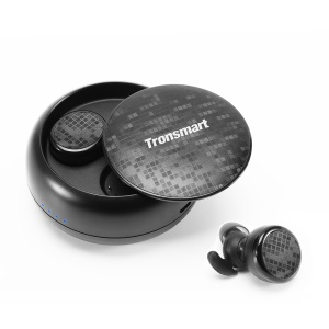 TRONSMART Encore Spunky Buds Stereo Bluetooth Headphones with Charging Box