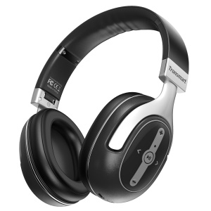 TRONSMART Encore S6 Active Noise Cancelling Bluetooth Headphones with Mic & 3.5mm Jack for iPhone Samsung etc
