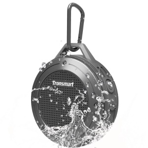 TRONSMART Element T4 Water Resistant Outdoor Bluetooth Speaker - Grey