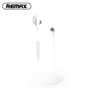White - REMAX S18 In-ear Magnetic Wireless Bluetooth 4.2 Stereo Earphone with Mic for iPhone Samsung