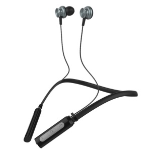 LANGSDOM L9 Magnetic Neckband Sport Wireless Bluetooth 4.1 Earphone with Mic - Black