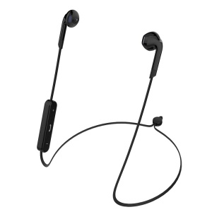 LANGSDOM BL6 DSP Noise-Canceling Sport Wireless Bluetooth 4.2 Headphone with Mic - Black