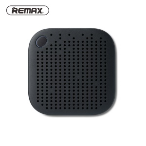 REMAX M27 Metal Coated Portable Bluetooth Hands-free Speaker - Dark Blue