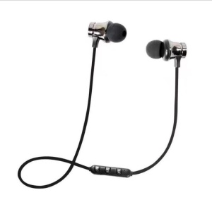 XT-11 Magnetic Adsorption In-ear Wireless Bluetooth 4.2 Earphone - Grey