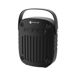 NEWRIXING BR-4010 Portable Multifunctional Wireless Bluetooth Speaker Build-in Mic Support FM Radio/TF Card/Aux-in - Black