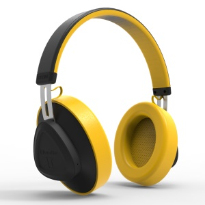 BLUEDIO TM Bluetooth Headset Stereo Headphone - Yellow