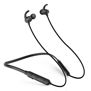X7 Wireless Bluetooth Sport Stereo Earphone Magnetic Adsorption In-ear Headset with Mic - Black