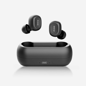 QCY T1C Wireless Binaural In-ear Earphones Waterproof Bluetooth 5.0 Headset with Charger Box