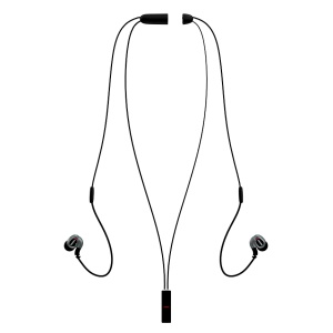 REMAX S8 Bluetooth Headset Neckband Sport Earphone with Mic Remote Control - Black