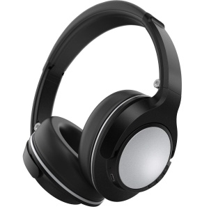 JH-803 Over-ear Wireless Bluetooth Stereo Headset Headphone with Microphone - Black / Silver