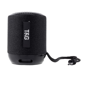 TG129 Wireless Music Speaker Support Hands-free Phone Call/FM/TF Card/Aux-in - Black