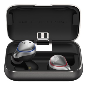 MIFO O5 Bluetooth 5.0 Wireless Sports Binaural Earphones with Charging Box 7H Talk Time IPX7 Waterproof (Standard Version)