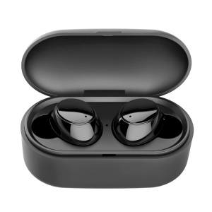 MYINNOV Y1 TWS Double Wireless Bluetooth 4.2 Headphone Earbuds with Charging Box - Black