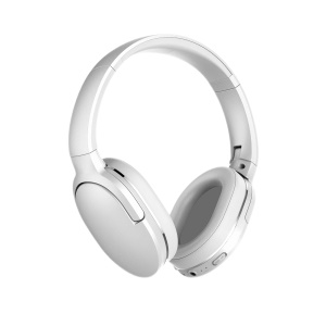 BASEUS Encok D02 Foldable Stereo Wireless Bluetooth Over-ear Headphone with Mic - White