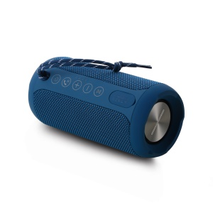 REMAX M28 Portable Waterproof Wireless TWS Bluetooth Speaker with Mic Support Aux-in - Blue