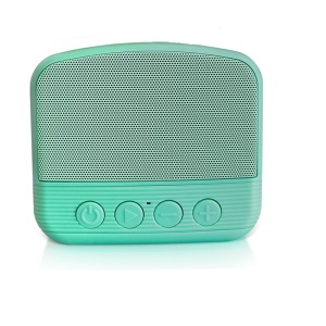 NR-101 Bluetooth Mini Portable Outdoor Subwoofer Speaker with Mic Support USB Drive/TF Card - Green