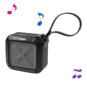 W-KING S7 Outdoor Waterproof Bluetooth Speaker with Mic Support NFC - Black
