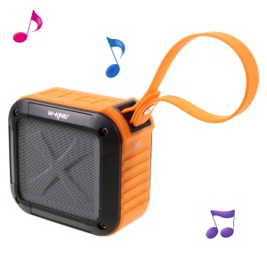 W-KING S7 Outdoor Waterproof Bluetooth Sound Box with Mic Support NFC - Orange