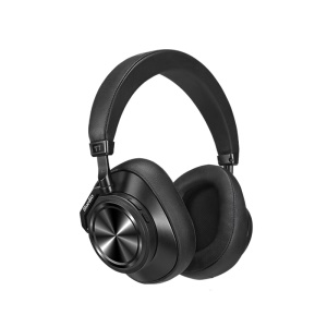 BLUEDIO T7 Bluetooth Headphones User-defined Active Noise Cancelling Wireless Headset with Face Recognition - Black