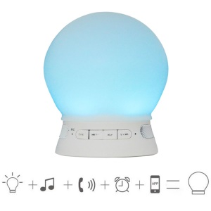 Bluetooth 4.0 Speaker LED Mood Light APP Control Support AUX-in TF Card (TS-D04)