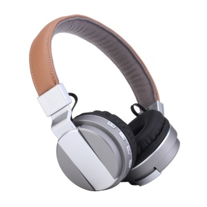 ROMIX BT008 Luxurious Bluetooth Over-ear Headphone Support AUX-in/Mic/TF Card - Silver