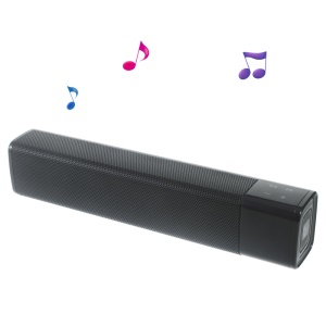 SL-1000S Dual Horn Mega Bass Wireless Bluetooth High Fidelity Speaker Support NFC - Black