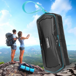 W-KING S9 Portable Outdoor Bluetooth 4.0 Speaker Power Bank with Mic