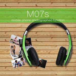 48Pcs/Lot AUSDOM Bluetooth 3.0 Handsfree Headphone with Photographed Function (M07S)