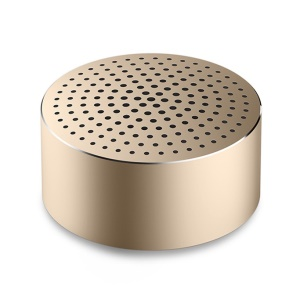 XIAOMI Portable Wireless Hands-free Bluetooth V4.0 Speaker with Mic - Gold Color