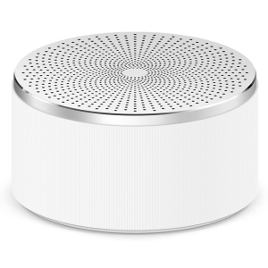 XIAOMI OEM Mini Portable Aluminium Alloy Bluetooth Speaker Music Player - Silver