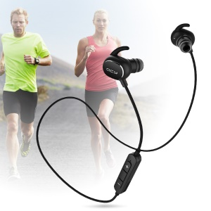 QCY QY19 Wireless Bluetooth V4.1 Music Sports Headset In-ear Earphone - Black