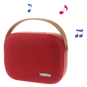 AIBIMY MY550BT Stereo Wireless Bluetooth Speaker Support USB Disk/AUX-in/TF Card - Red