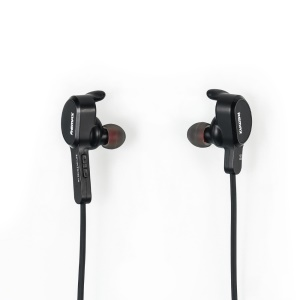 REMAX RB-S5 Auricular Bluetooth Inalámbrico Magnetic para Auricular In-Ear para iPhone / Samsung / Sony-Negro