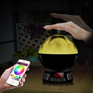 YHW BL-11 2-in-1 Intelligent Colorful LED Light Bulb + Bluetooth Music Speaker APP Control