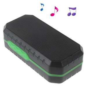 Outdoor Portable Bluetooth Speaker, Waterproof Dustproof Shockproof Design - Green