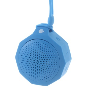 COTEETCI Portable Outdoor Bluetooth Speaker with Mic for iPhone Samsung - Blue