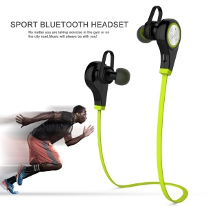 JAD Q9 Sports Bluetooth 4.0 Stereo In-ear Earphone Headset for iPhone 6s Plus / Samsung S7 edge - Green